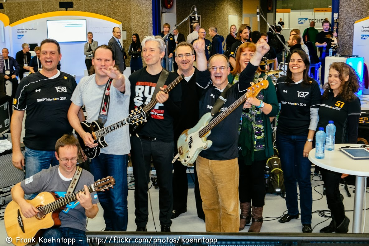 SAP TechEd 2013 Amsterdam: Jam Band Or Band Jam?